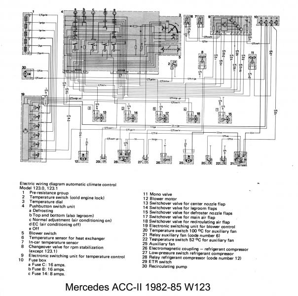 Wiring Diagram For Mercedes 300d