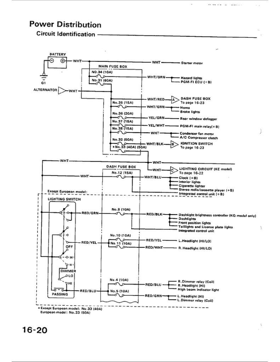 Crx Fog Light Wiring Diagram - 71 Dart Wiring Diagram | Bege Wiring Diagram
