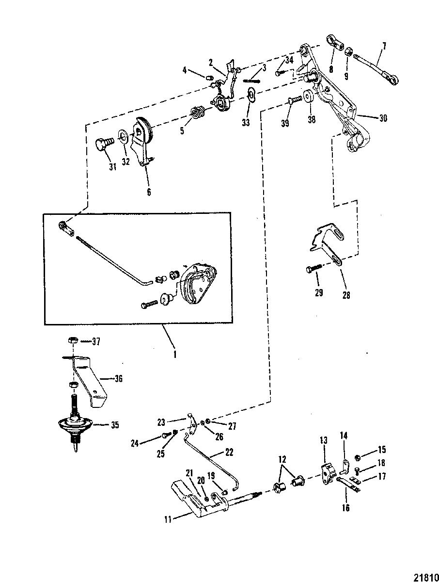 Dr 4891  25 Hp Mercury Tiller Handle Diagram On Manual
