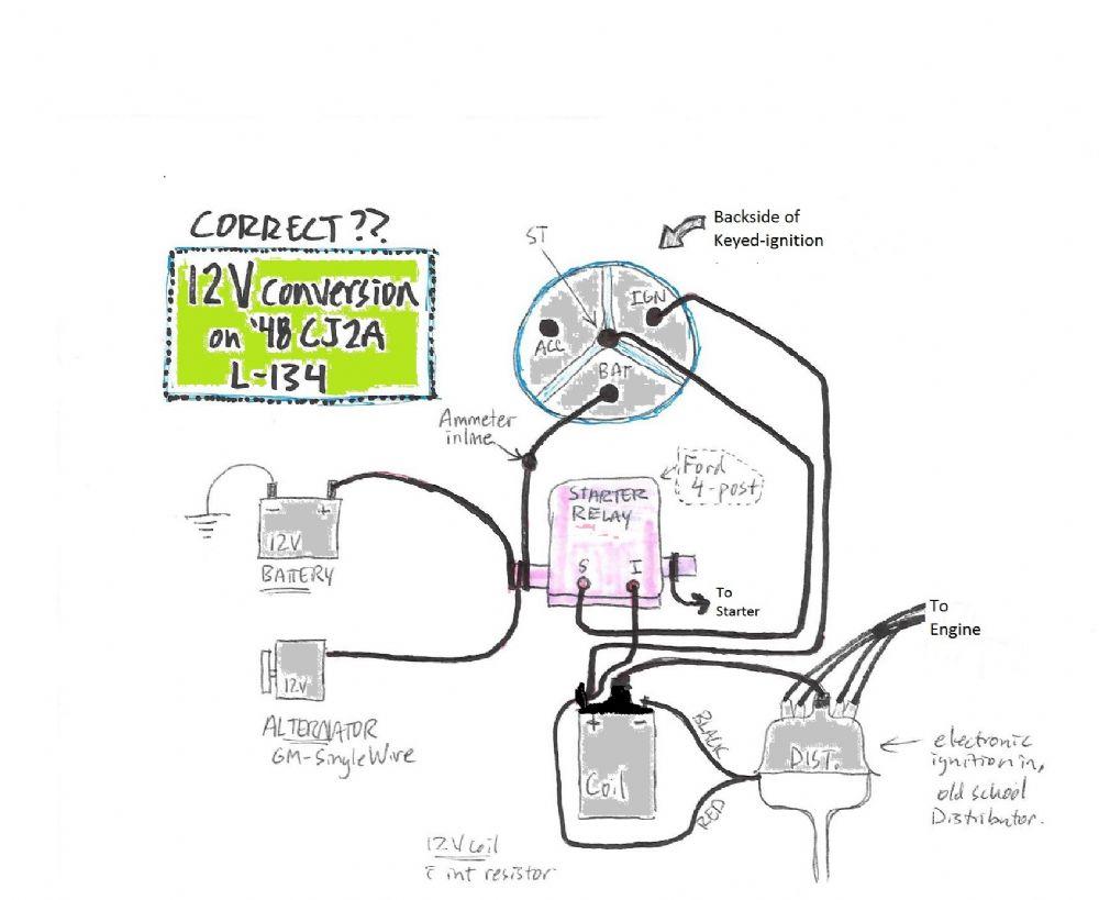 Cj2a Wiring Diagram - Wiring Diagram