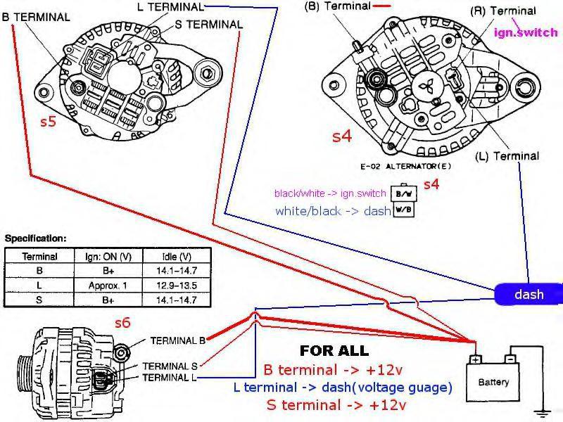 24v alternator wiring diagram  2000 chevy silverado 5 3