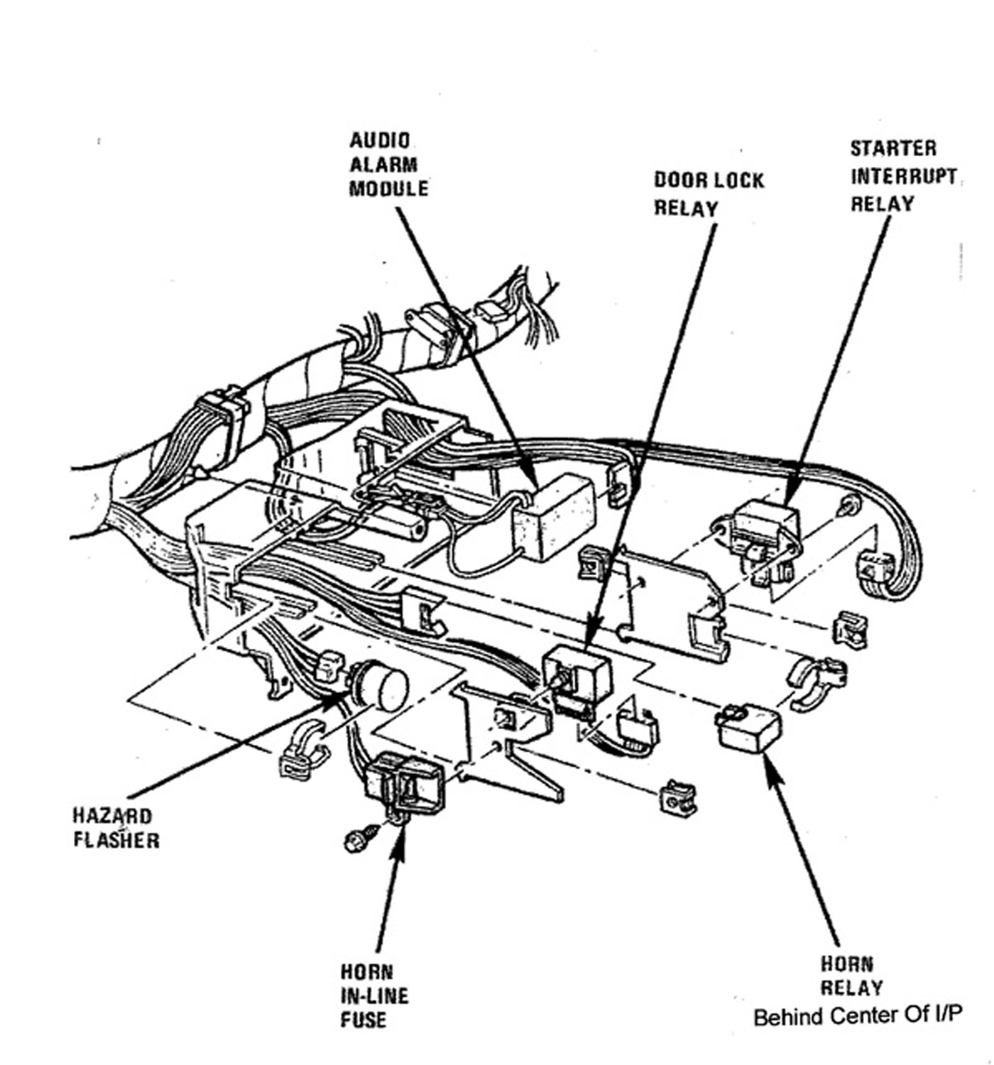 Sx 3781  1968 Corvette Wiring Diagram For Starter Free