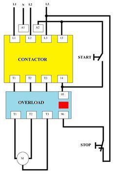 Ml 0042 Single Phase Starter Wiring Diagram Schematic Wiring