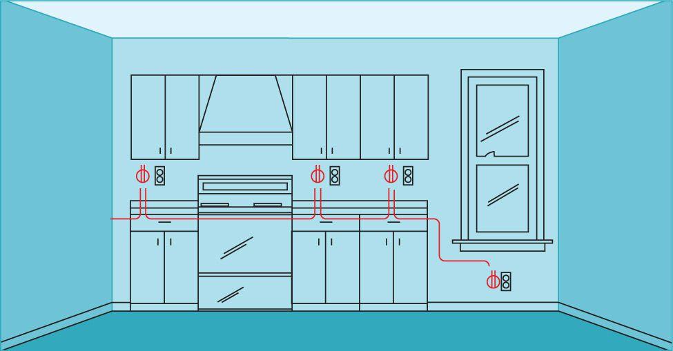 kitchen wiring circuit diagram od 9393  wiring kitchen small appliance circuit schematic wiring  wiring kitchen small appliance circuit