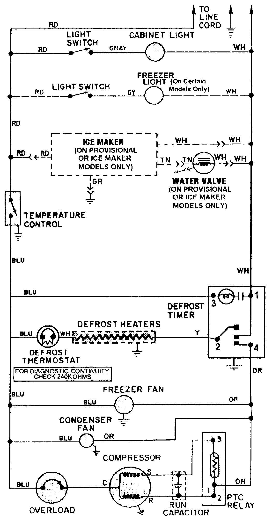Magic Chef Refrigerator Wiring Diagram