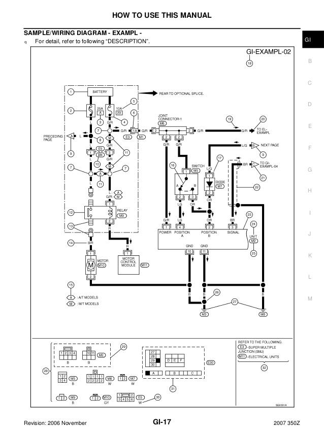 2007 Nissan 350z Wiring Diagram - Center Wiring Diagram clue-canvas -  clue-canvas.iosonointersex.itiosonointersex.it