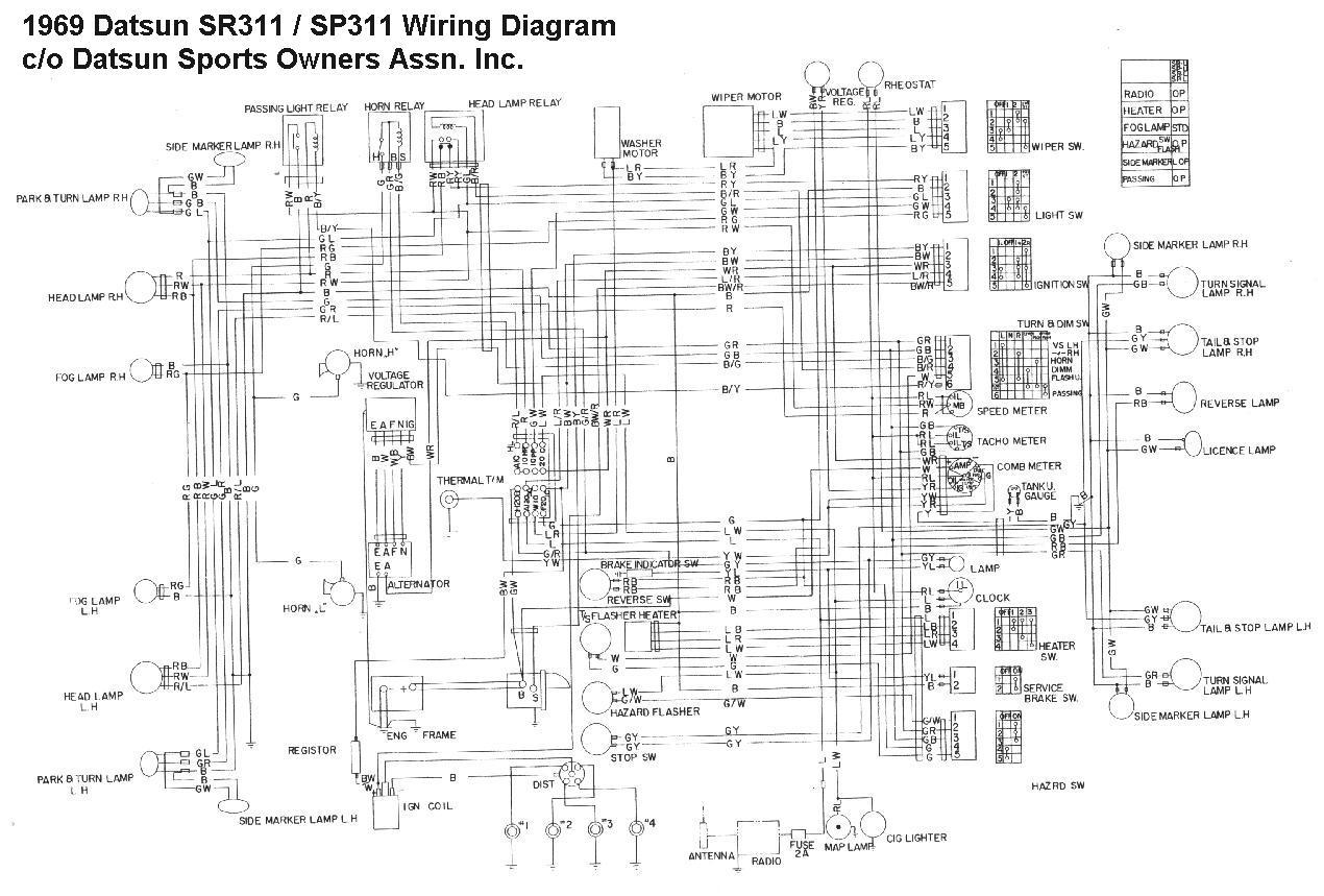 Ar 2097  1400 Nissan Wiring Diagram Schematic Wiring