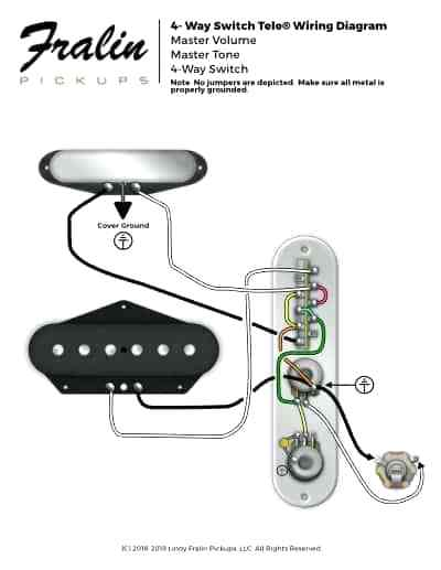 Lm 2060 Premium Wiring Kit For Telecaster With 4way Switch Main Product Download Diagram