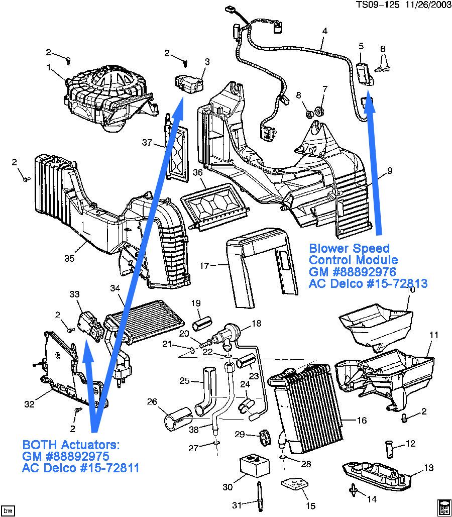 Sv 3449 Gm Hvac Diagrams Schematic Wiring