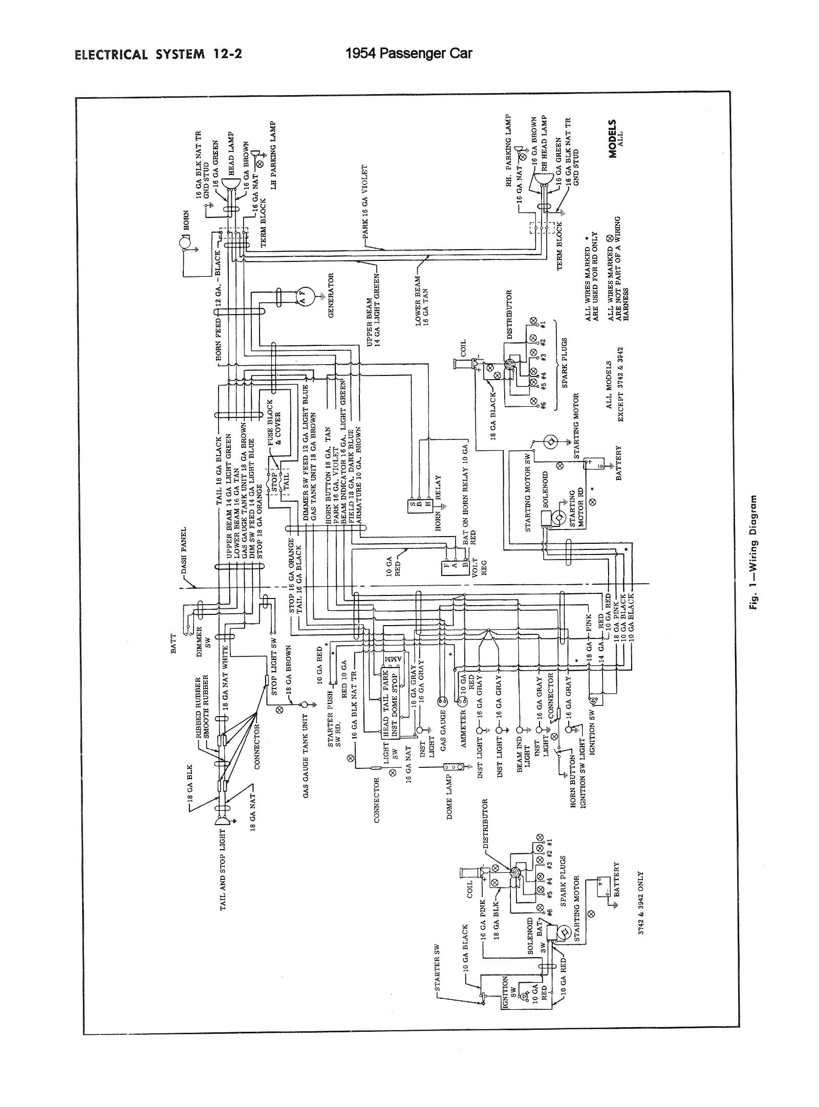 1954 Chevy Turn Signal Wiring Diagram
