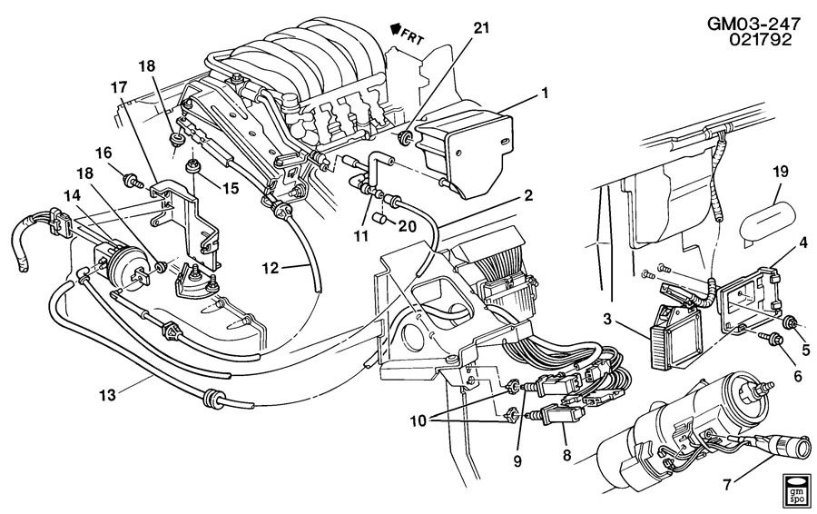 Bf 2332  Chevy Impala Power Steering Diagram