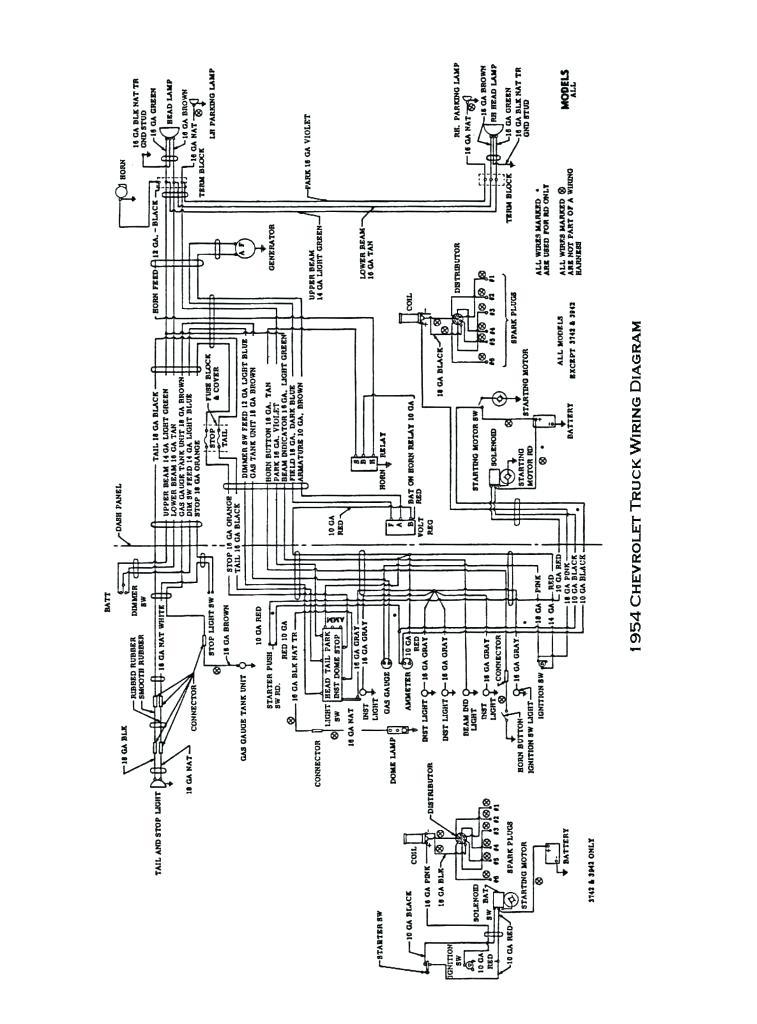 1954 international trucks wiring diagram  center wiring