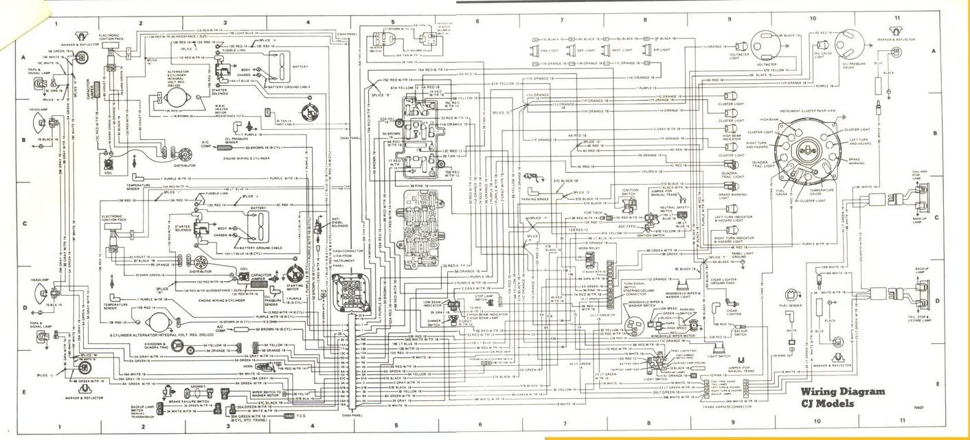 VS_8475] 1986 Cj7 Wiring Diagram Mallory Free Diagram