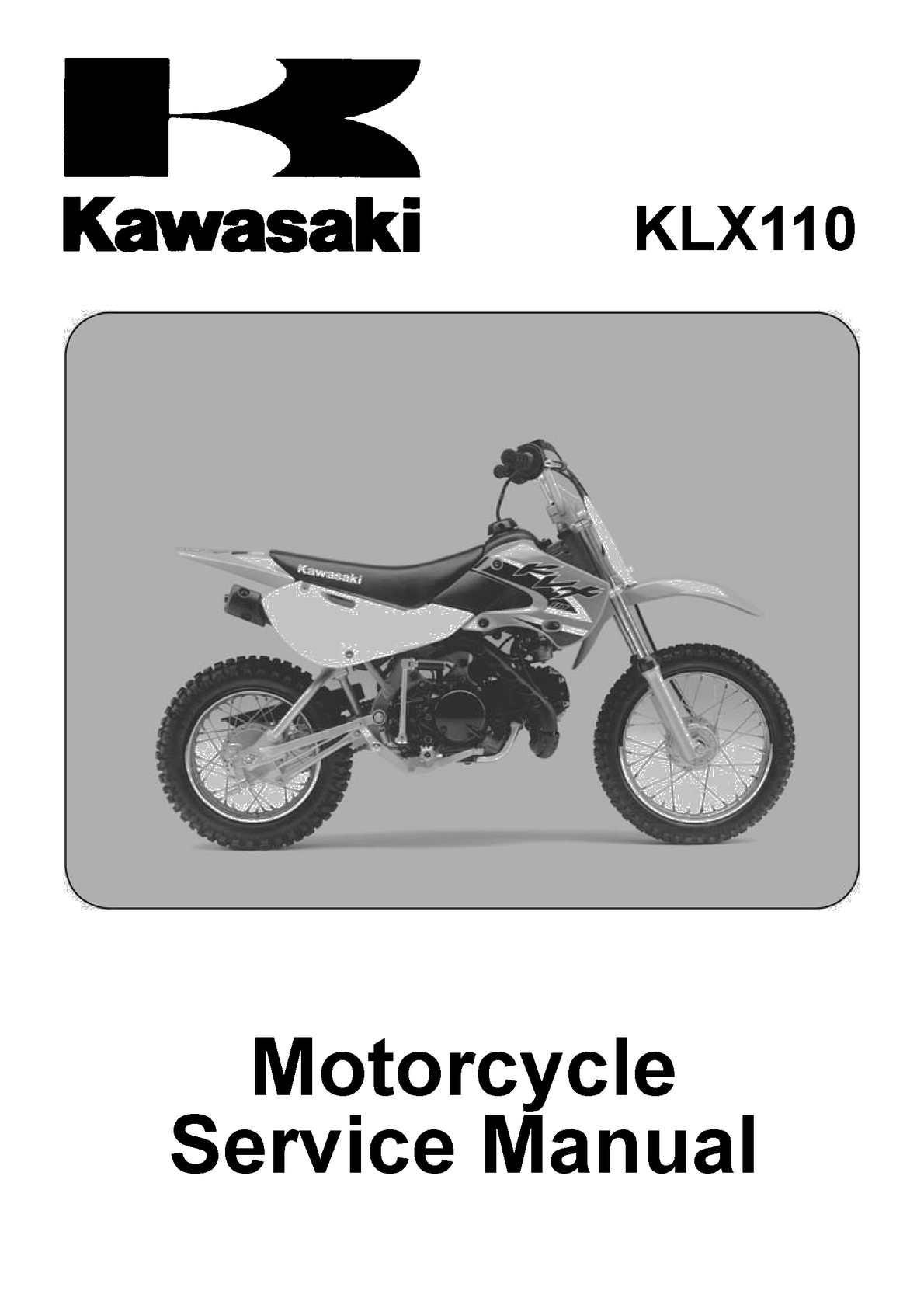 WHITE PLASTIC KAWASAKI  KLX 110 DRZ110 KLX//DRZ 110 P PS18
