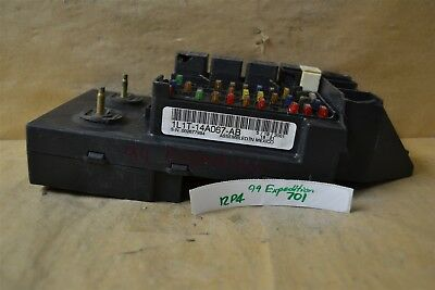 Astounding 97 03 Ford F150 F250 Ford Expedition Fuse Relay Box Cover Left Side Wiring Cloud Cranvenetmohammedshrineorg