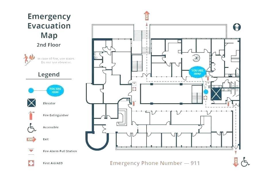 Peachy Emergency Evacuation Diagram Template Map New Fire Plan Wiring Cloud Uslyletkolfr09Org