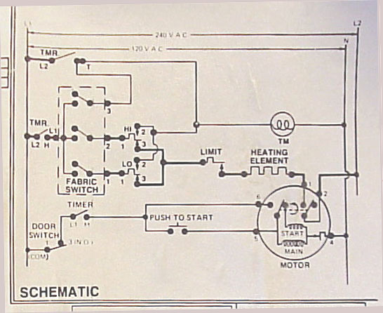rca electric dryer wiring diagram  2000 ford f 250 power