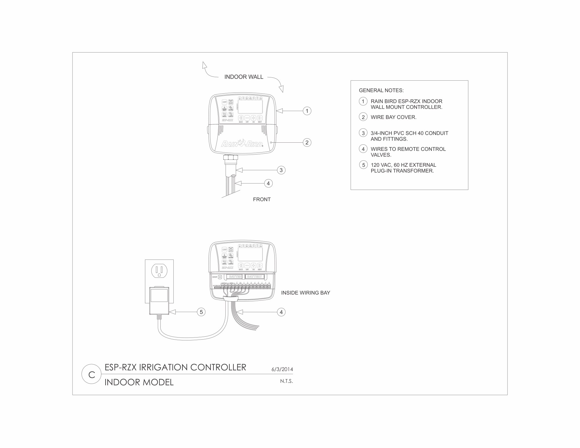 Ll 6451 E4 Rain Bird Esp Wiring Diagram Free Diagram