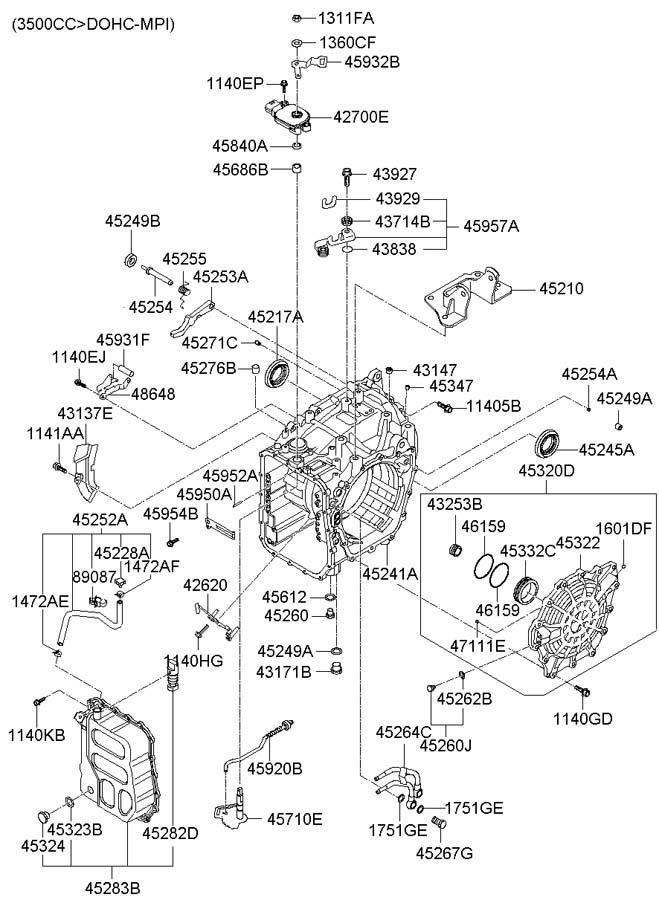 Car Complaints  2004 Hyundai Santa Fe Engine Diagram