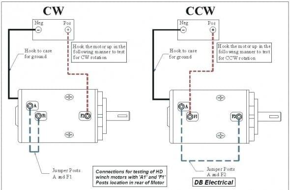 3 Post Winch Motor Wiring Diagram