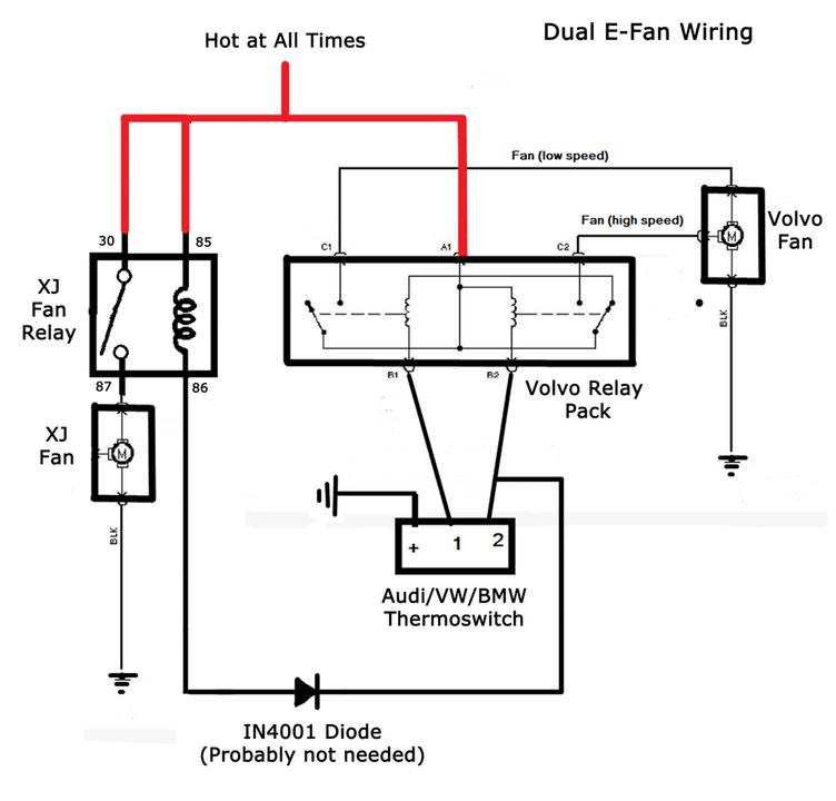 Bmw Fan Relay Wiring Schematic Wiring Diagram