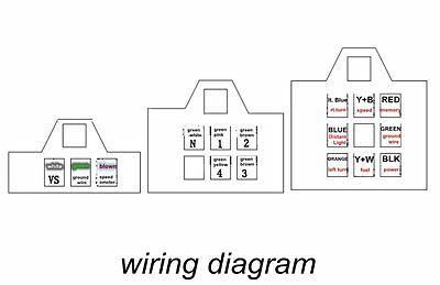 Al 9279 Electric Speedometer With Odometer Wiring Diagram Wiring Diagram
