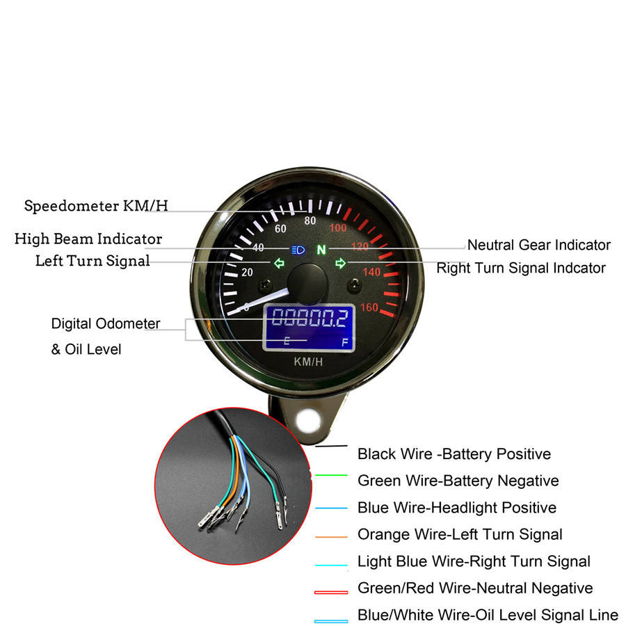 Rpm Gauge Wiring Diagram Motorcycle