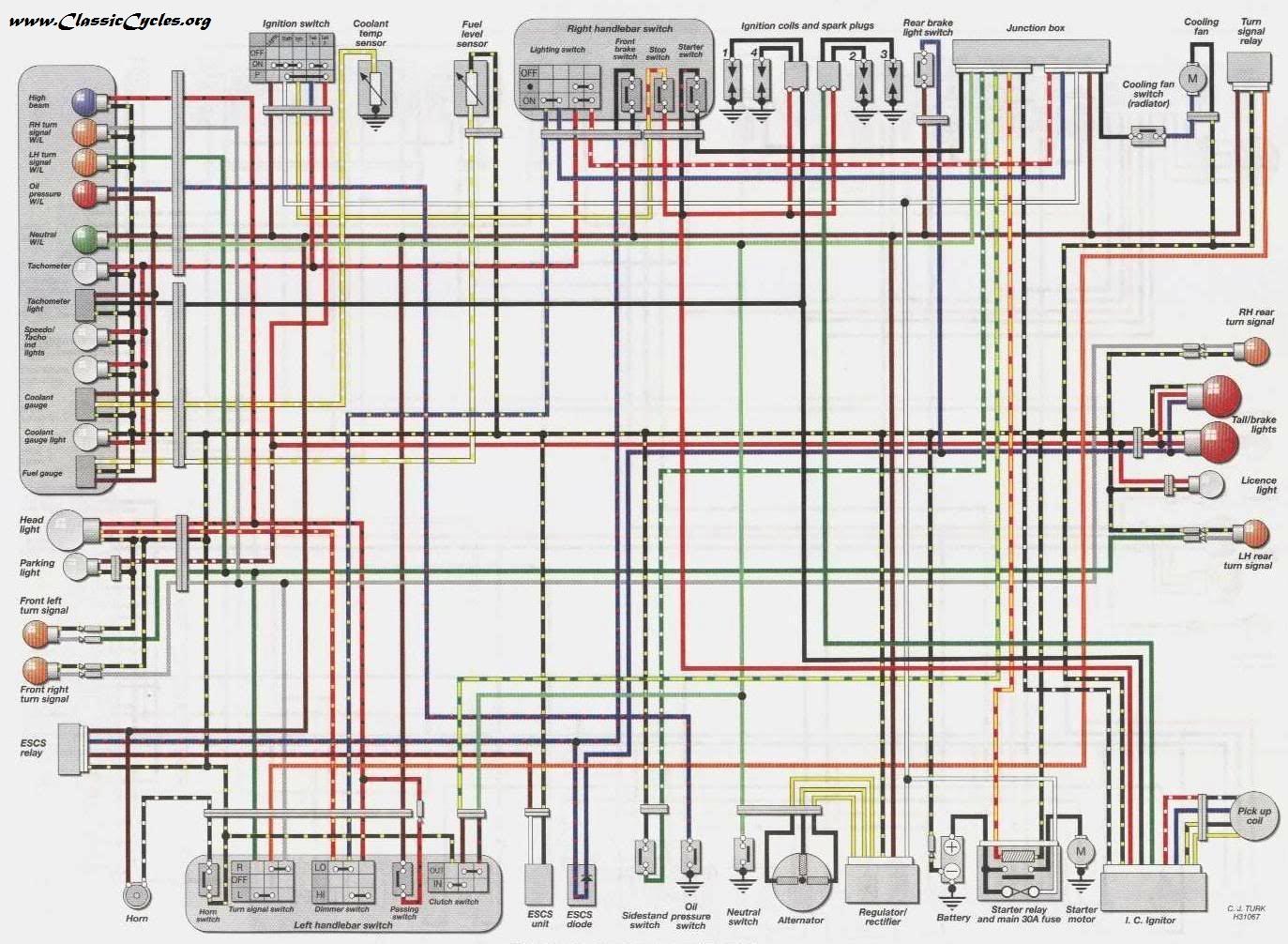 Pleasing Kawasaki Zephyr 750 Wiring Diagram Wiring Diagrams Lol Wiring Cloud Onicaalyptbenolwigegmohammedshrineorg