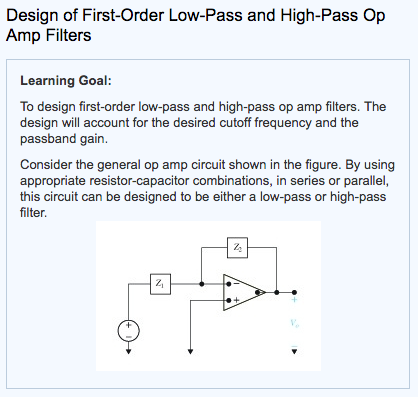 Groovy Solved Designing A First Order High Pass Filter For The O Wiring Cloud Licukaidewilluminateatxorg