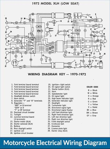 yx8988 motorcycle wiring diagram on ignition coil wiring