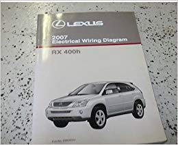 Strange 2007 Lexus Rx400H Rx 400H Electrical Wiring Diagram Ewd Service Shop Wiring Cloud Overrenstrafr09Org