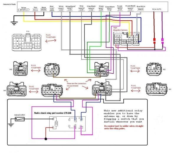 jvc kd r730bt car stereo wiring diagram  kandi 250cc wire