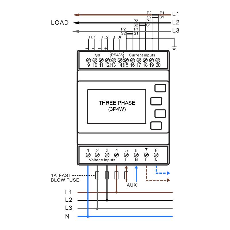 FT_3168] Meter Wiring Diagram 3 Phase Meter Wiring Diagram Electric Smart  Meter Free DiagramGritea Terch Phil Nizat Phae Mohammedshrine Librar Wiring 101