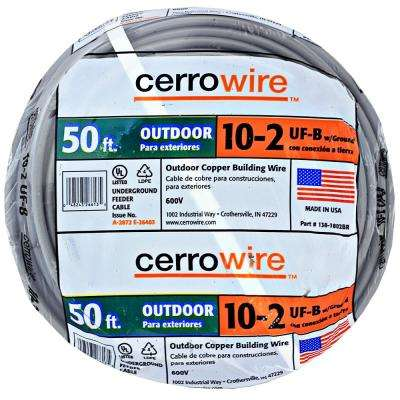 Astounding 10 50 Ft Wire Electrical The Home Depot Wiring Cloud Filiciilluminateatxorg