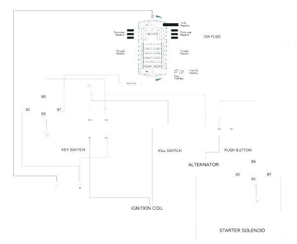 wx2540 ignition switch wiring diagram on kohler key switch
