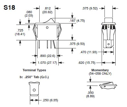 2 prong switch wiring diagram fr 5032  125v switch wiring diagram  fr 5032  125v switch wiring diagram