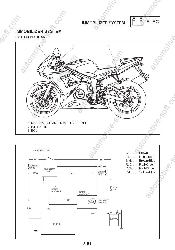Aw 0019 Yamaha Electrical Wiring Diagrams Yamaha Fz6s Fz6n Yamaha Yzfr6 Schematic Wiring