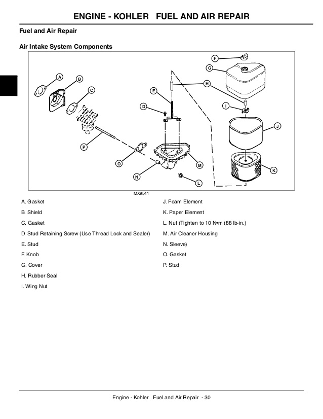 Df 9729 Lt160 John Deere Wiring Diagram Free Diagram