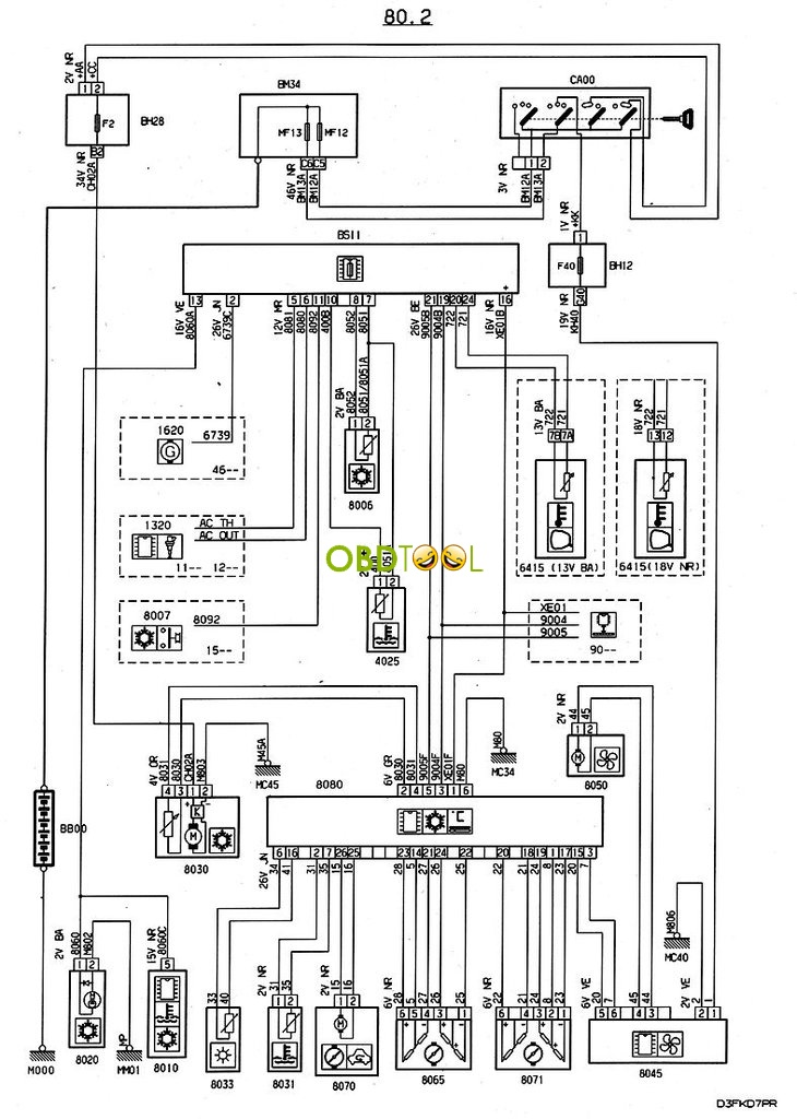 od3623 peugeot ac wiring diagrams wiring diagram