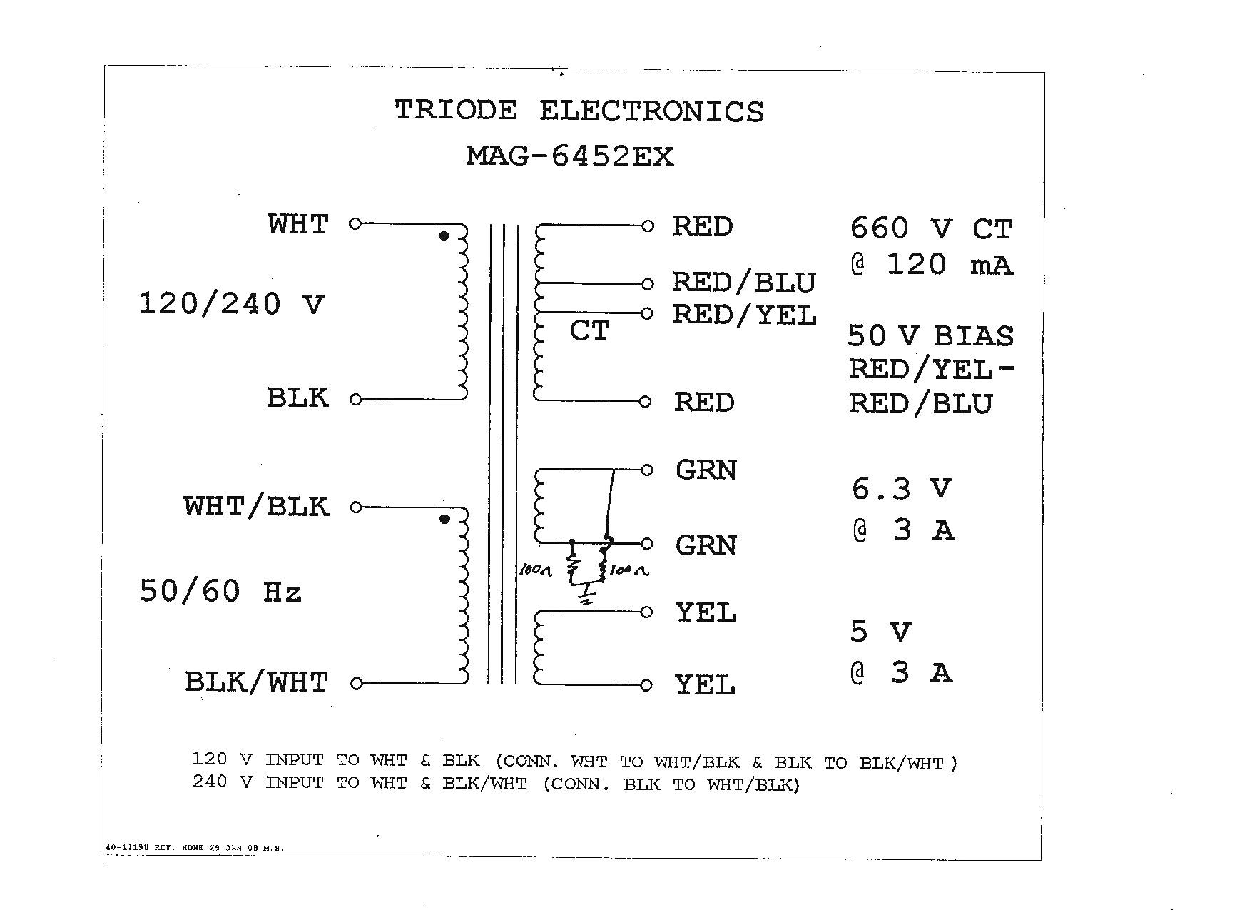 Acme Control Transformer Fuse Chart