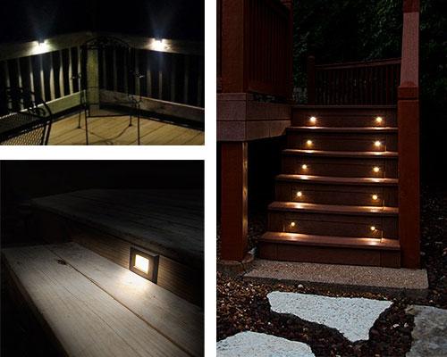 La 6191  Led Strip Lighting For Under Deck Rails On Patio