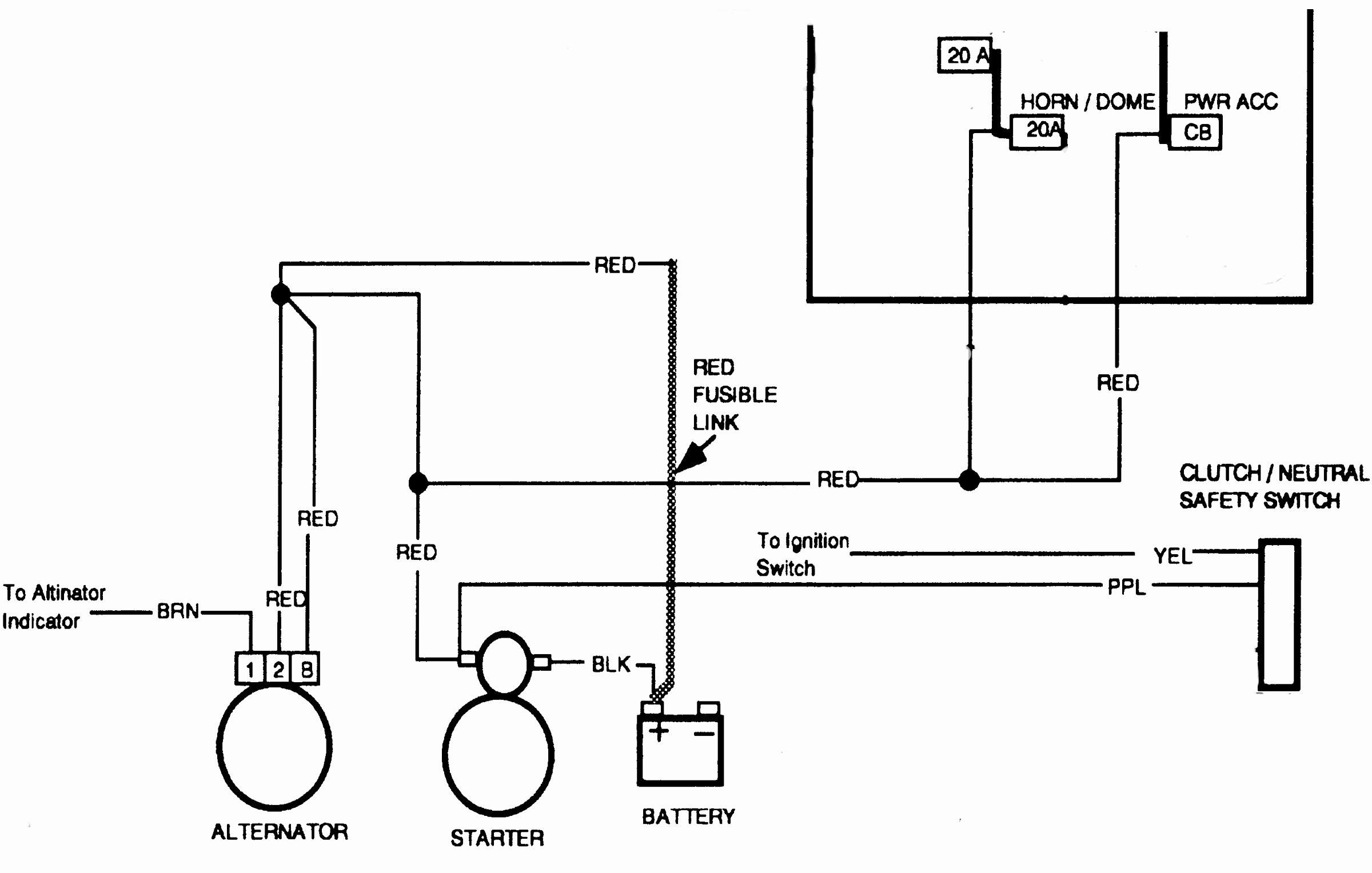 1997 Chevy Astro Van Alternator Wiring Diagram 66 Ford Mustang Alternator Wiring Diagram Source Auto5 Yenpancane Jeanjaures37 Fr