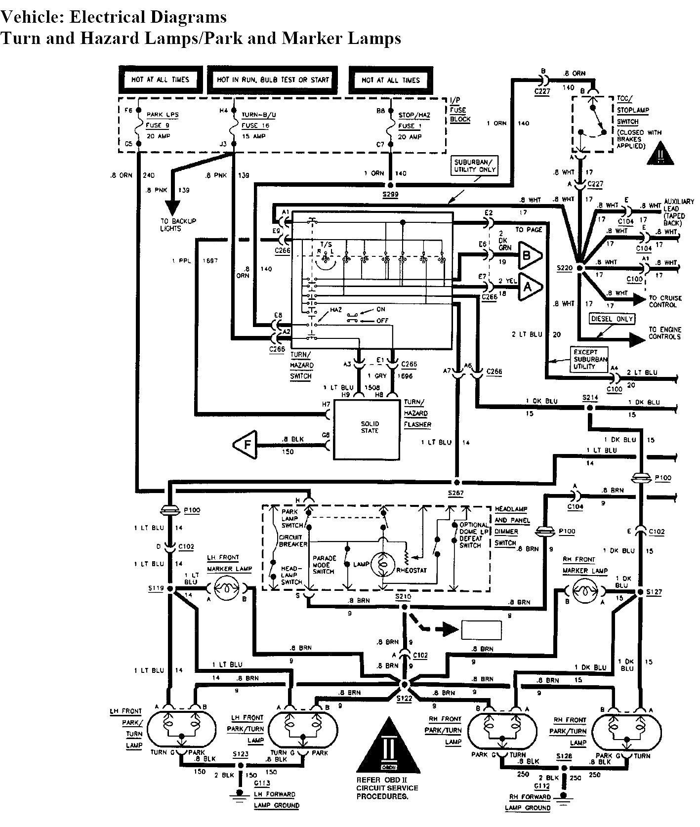 Tail Light Wiring Diagram 1994 Chevy Truck - Wiring Diagram