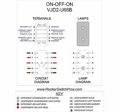 de3456 dpst rocker switch wiring diagram schematic wiring
