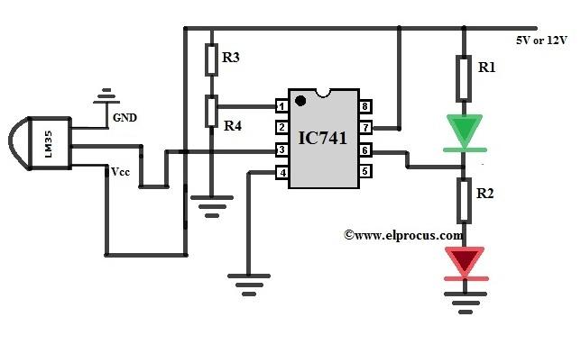 Cool Temperature Sensor Lm35 Circuit Sensorcircuit Circuit Diagram Wiring Cloud Domeilariaidewilluminateatxorg