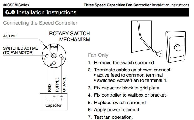 Ceiling Fan Sd Control Wiring Diagram