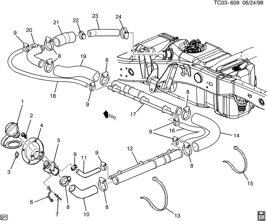 As 0523  Chevy Uplander Gas Tank Diagram Chevy 1500 Fuel