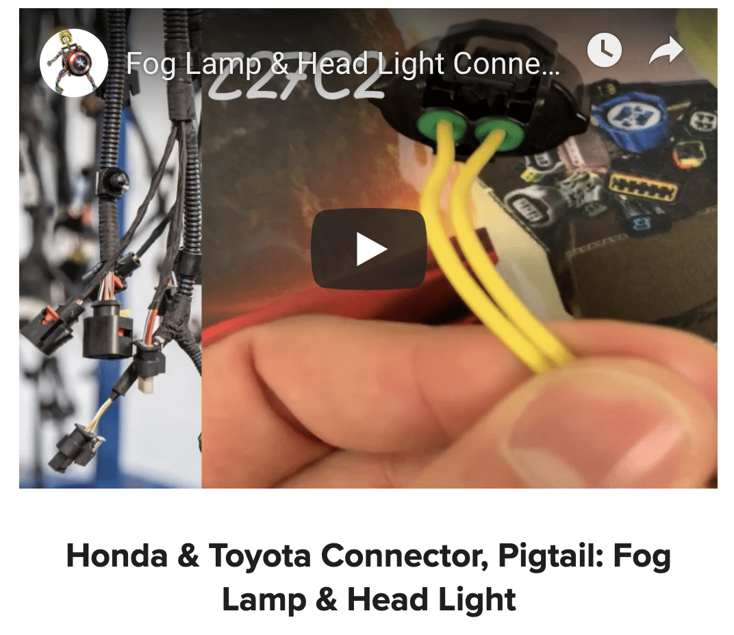 Marvelous Shop Automotive Connectors Pigtails At Findpigtails Com Wiring Cloud Vieworaidewilluminateatxorg