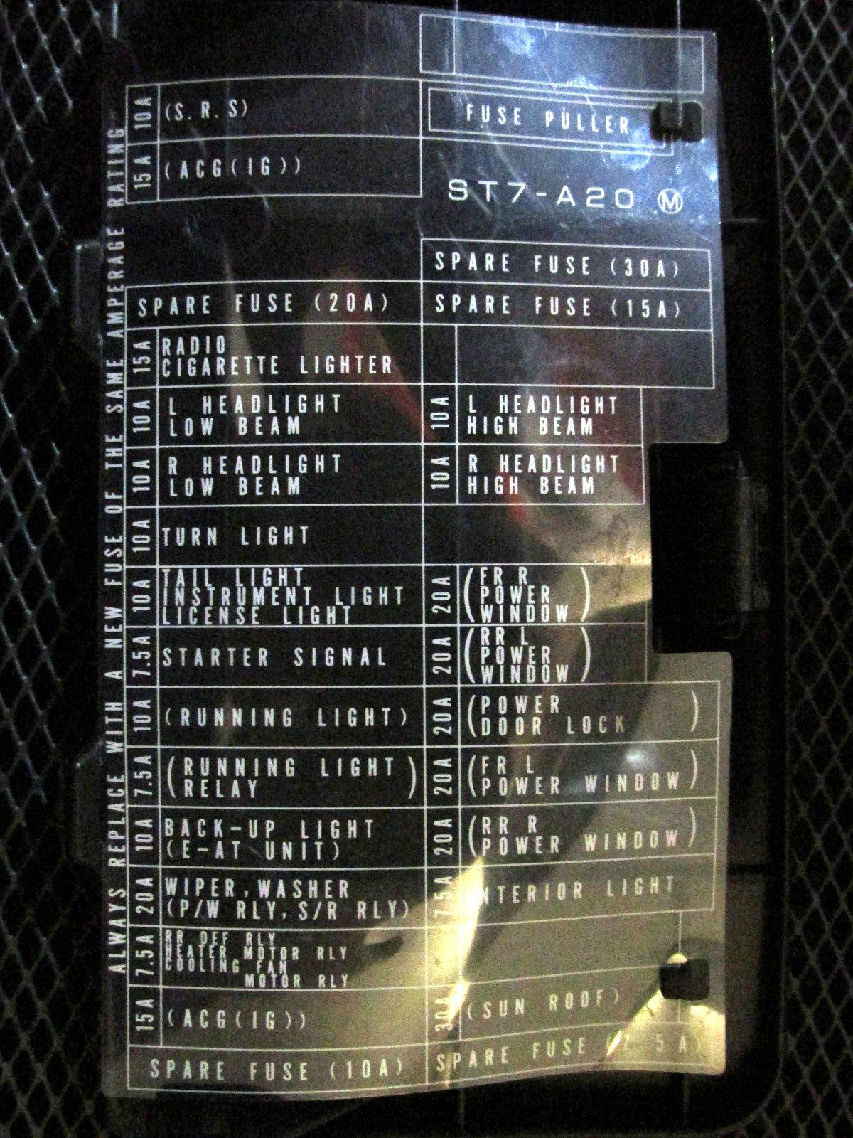 MF 40] 40 Acura Fuse Box Diagram Schematic Wiring