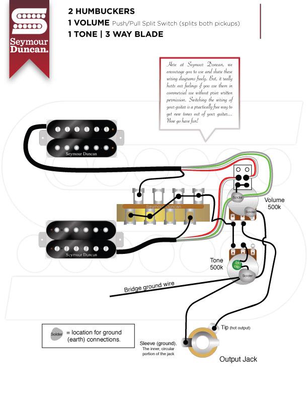 Guitar Wiring Diagrams 2 Pickups 1